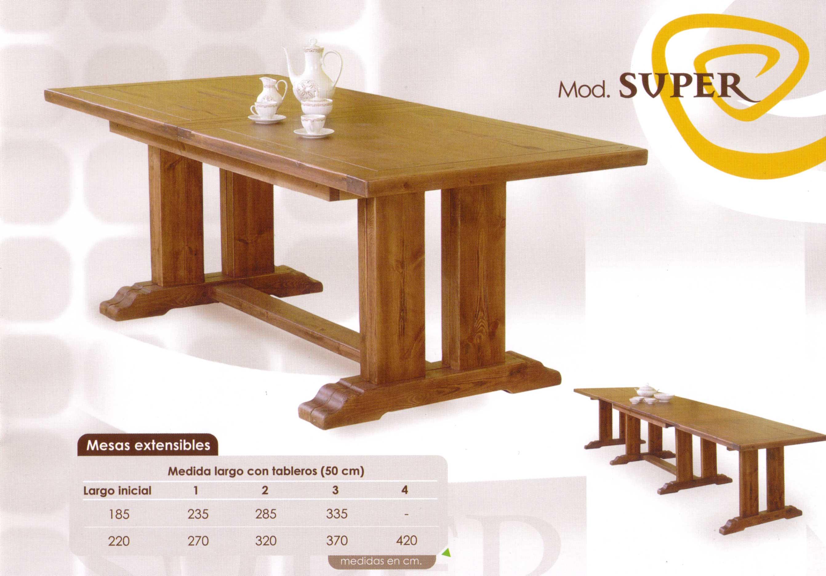 Mesas for Modelos de mesas cuadradas